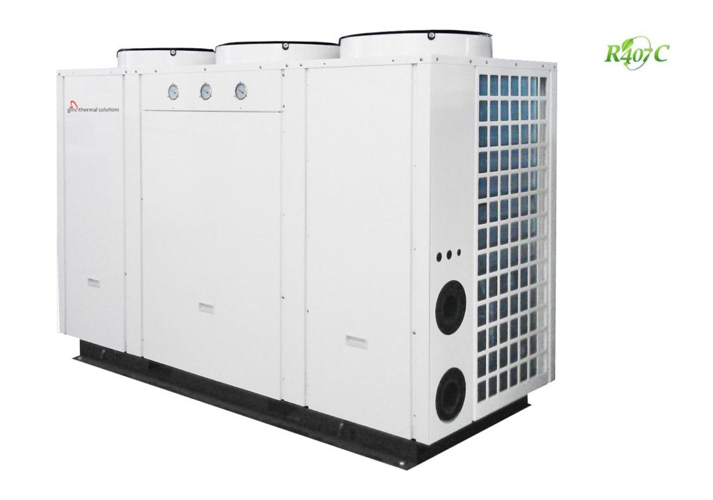 GMC 62KW Hot water heat pump system